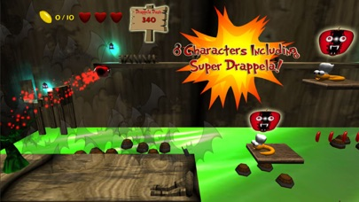Screenshot from Apple Avengers : Free fun run and jump platform adventure game with super hero fighting fruit