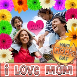 Mother's Day Greeting Cards and Stickers