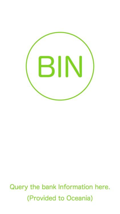BIN Database for Oceania