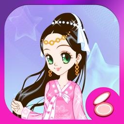 古装仙女:女孩子的美容,打扮,化妆,换装小游戏免费