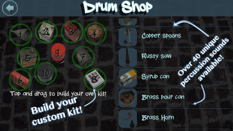 Street Drummer - the bucket drum pad beatmaker for drumming with junk drums