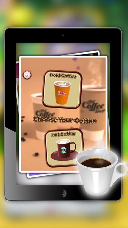 iCe & hot Coffee maker - Make creamy dessert in this cooking fever game for kids screenshot-3