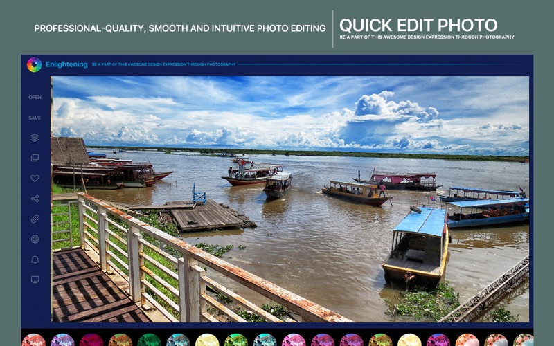 Enlightening X Pro - Filters Effect Darkroom Photo Editor for Mac