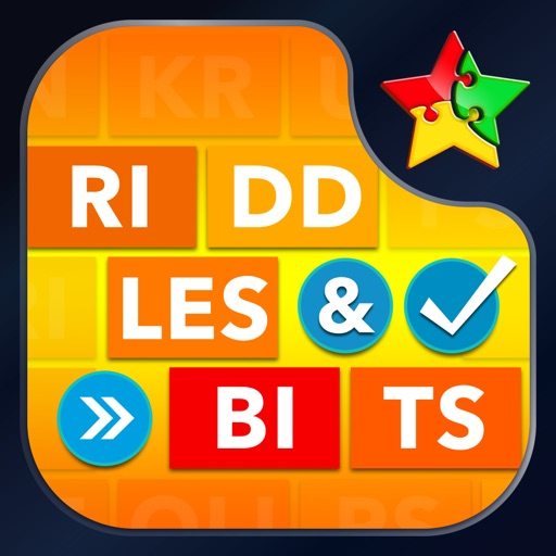 Riddles & Bits ~ guess 24 x 7 little words in crossword puzzles