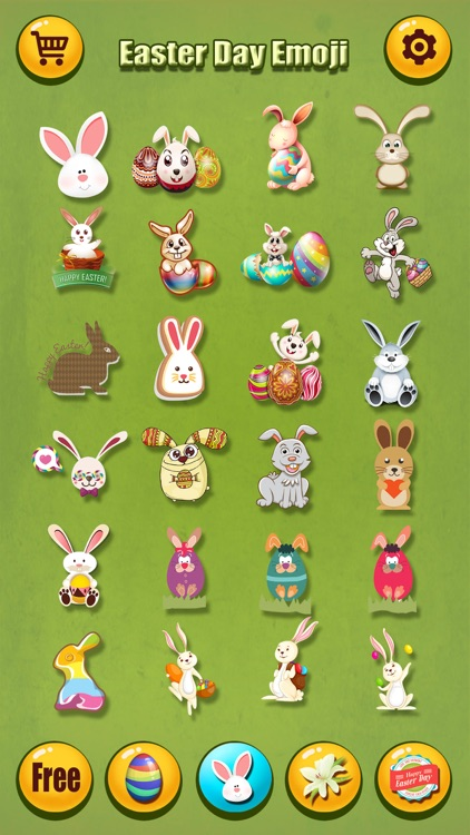 Happy Easter Emoji.s Pro - Holiday Emoticon Sticker for Message & Greeting screenshot-2