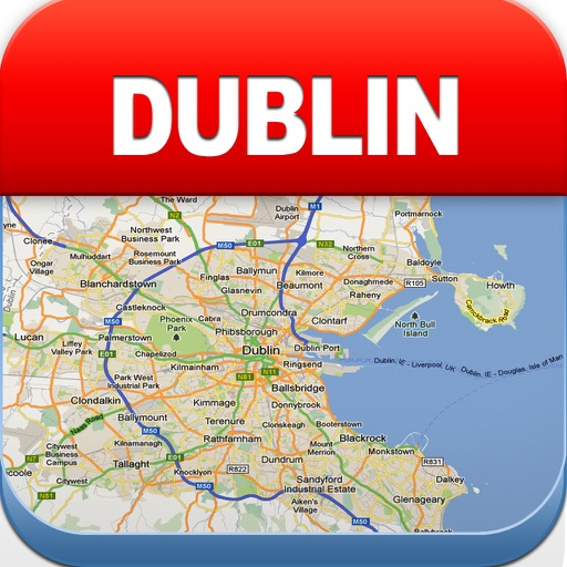 Dublin Offline Map - City Metro Airport