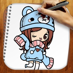 Easy Draw Kawaii Version