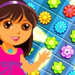 Amazing Flower Match 3 Garden Puzzle