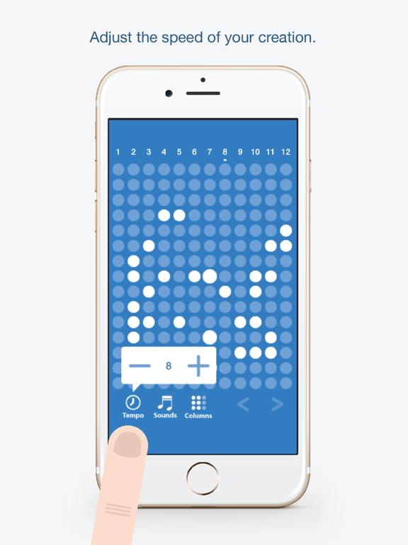 Ipad Screen Shot Tones - Fun and easy to use music creation app 2