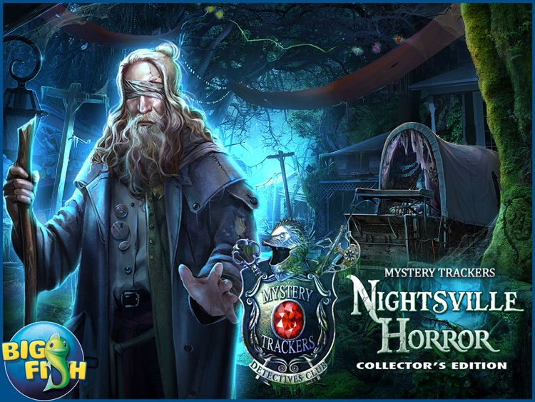 Mystery Trackers: Nightsville Horror HD - A Hidden Object Adventure screenshot-4
