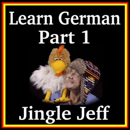 Learn German Language App - Part 1 with Jingle Jeff ( German words for KS1 and KS2 children )