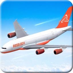 Airplane Flight Simulation 3D Pro - Realistic Jumbo Jet Driving Adventure
