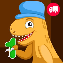 Dinosaur Number Train - Jurassic Dino Educational Game & Fun Activity to Help Kids and Toddlers Learn Numbers
