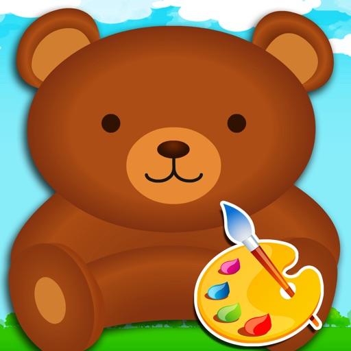 大熊填色百张