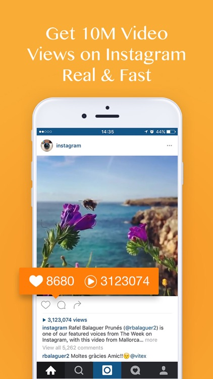 Video View Booster for Instagram - Get More Views & Viewer