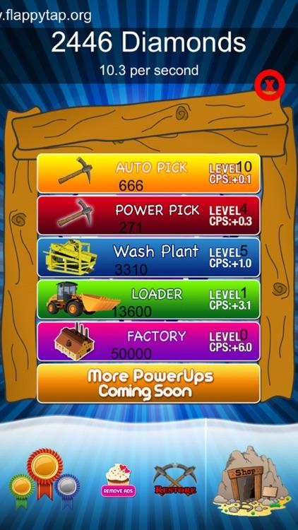 Craft Clicker Miner - Diamond screenshot-3