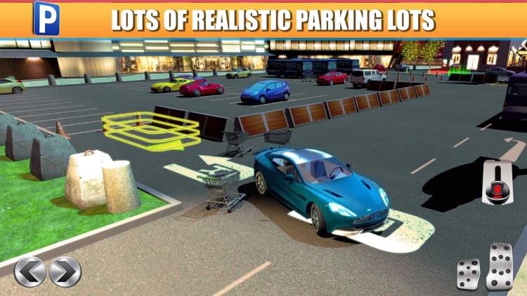 Shopping Mall Car Parking Simulator a Real Driving Racing Game