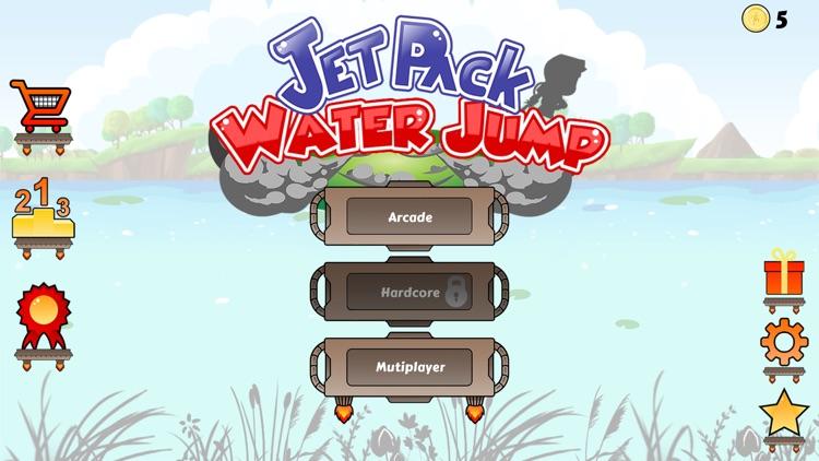 Jetpack Water Jump screenshot-0