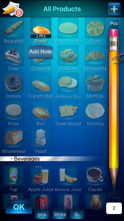 Tap and Buy - Simple Shopping List (Grocery List) screenshot-4