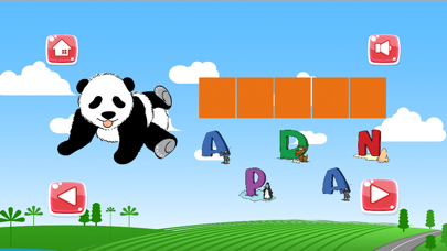 Spelling Game For Kids - Learning for Animals Vocabulary Free screenshot two