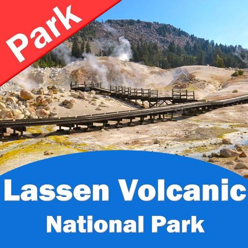 Lassen Volcanic National Park – GPS Offline Park Map Navigator