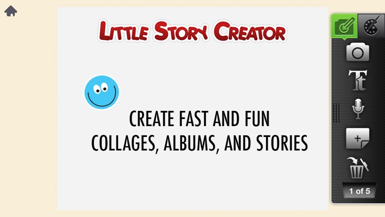 Little Story Creator -  Digital Scrapbooking and Photo Collage Maker