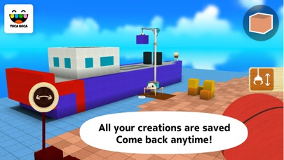 Screenshot for Toca Builders in United States App Store