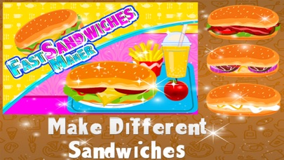 Fast Sandwiches Maker – Crazy cooking & chef mania game