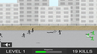 Zombie Shooter 2 - Stickman Edition screenshot two