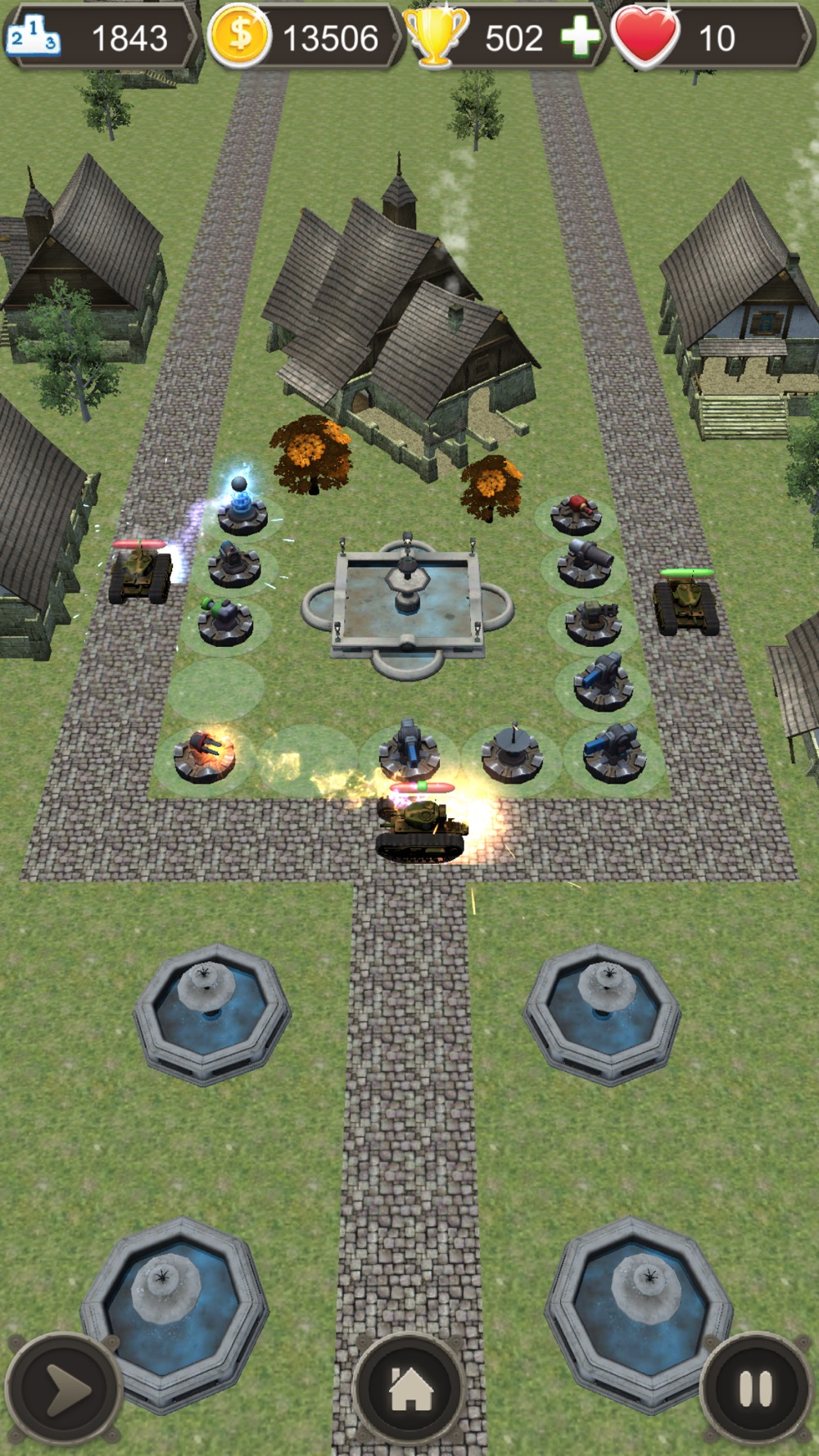 Tanks and Turrets 3