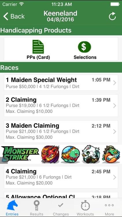 Equibase Today's Racing by Equibase Company LLC