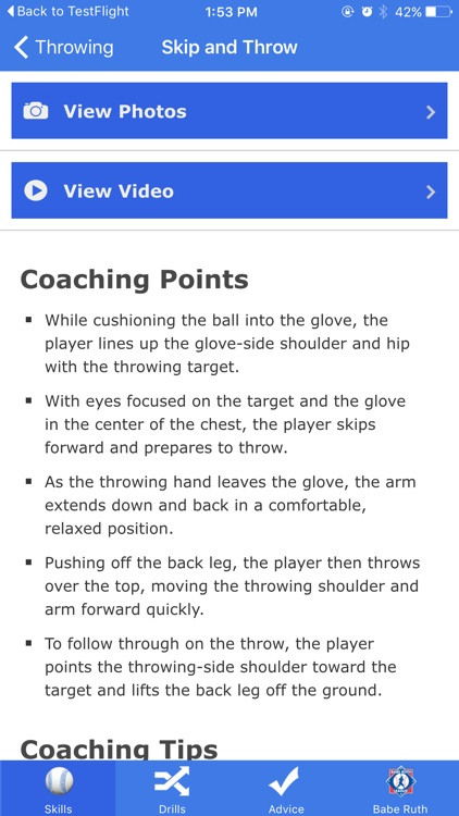 Go Coach Baseball screenshot-2