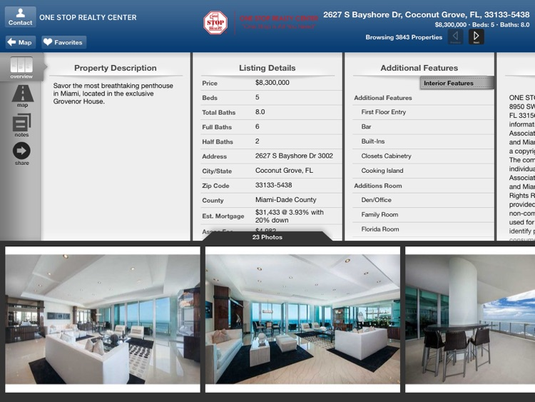 One Stop Realty for iPad screenshot-3