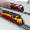 友達と子供鉄道レース: レース鉄道エンジン