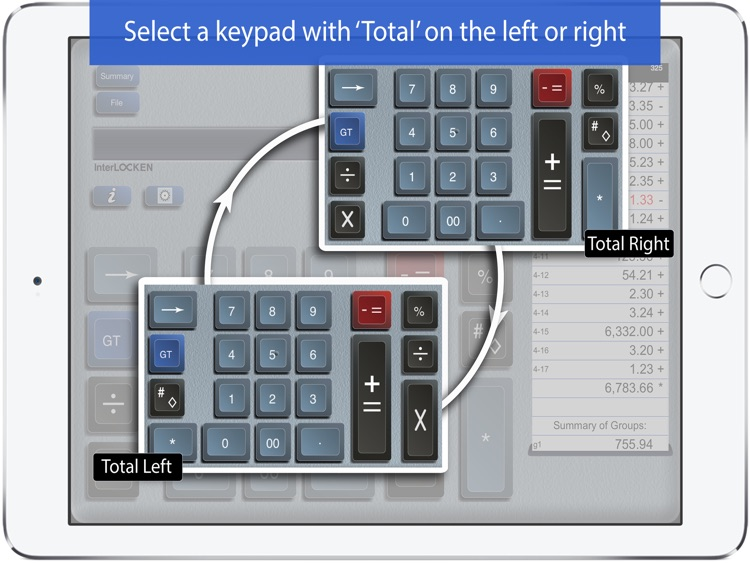 Adding Machine 10Key for iPad