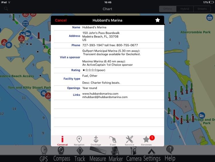 Florida GPS Nautical Chart Pro