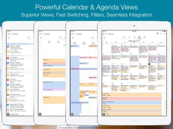 My.Agenda Calendars, Tasks Screenshots