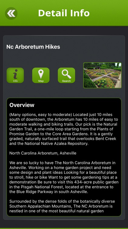 Asheville Hikes screenshot-2