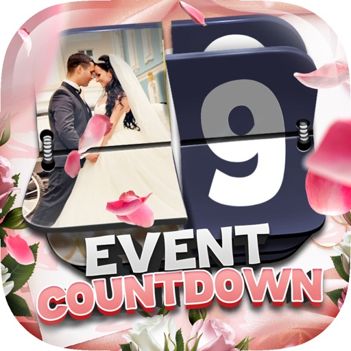 "Event Countdown Beautiful Wallpaper  - "" Wedding "" Pro"