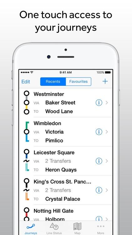 Tube Exits London