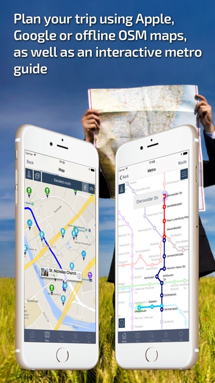 Berlin Travel Guide & offline city map screenshot-3