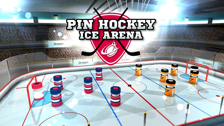 Pin Hockey - Ice Arena - Glow like a superstar air master screenshot-4