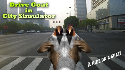 Drive Goat in City Simulator
