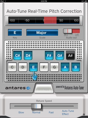 Auto-Tune Mobile Screenshots