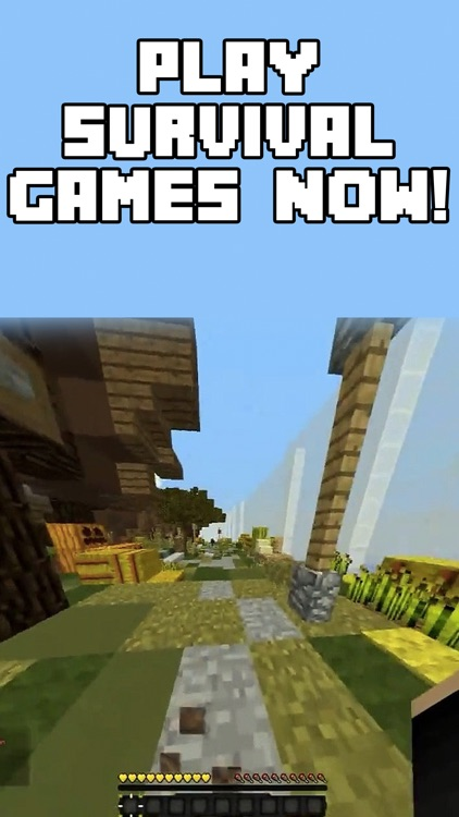 Multiplayer Survival Games for Minecraft Pocket Edition