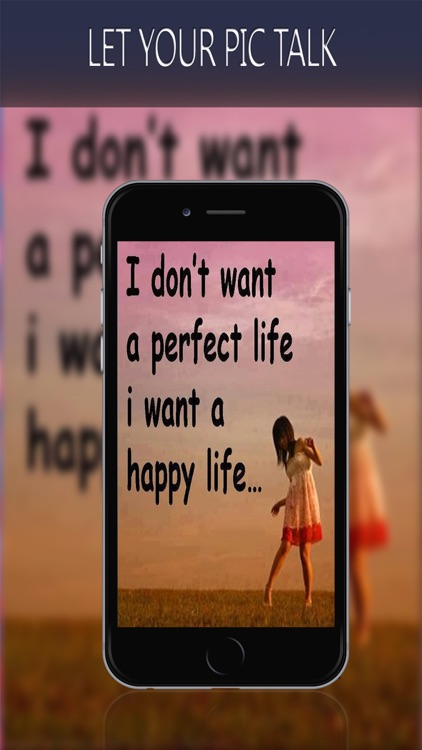 Add Text To Photos - Letter Fonts For Pics  -  Put Caption & Write Quotes On PIctures