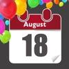 Birthday Reminder - Calendar and Countdown
