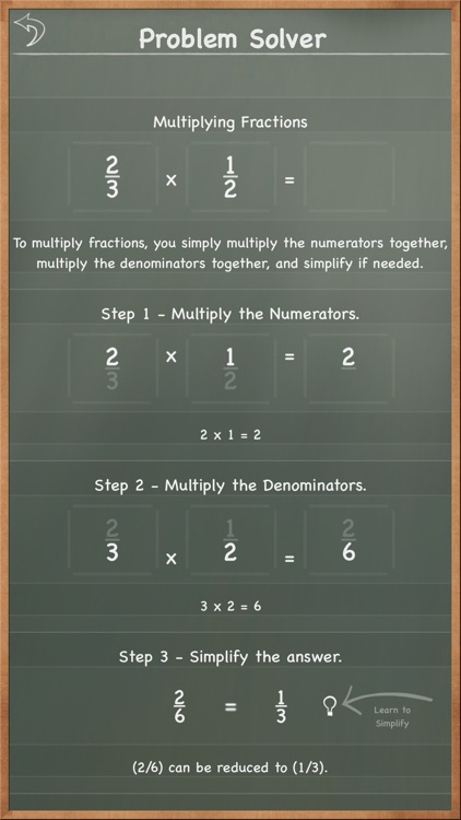 MathBoard Fractions screenshot-4