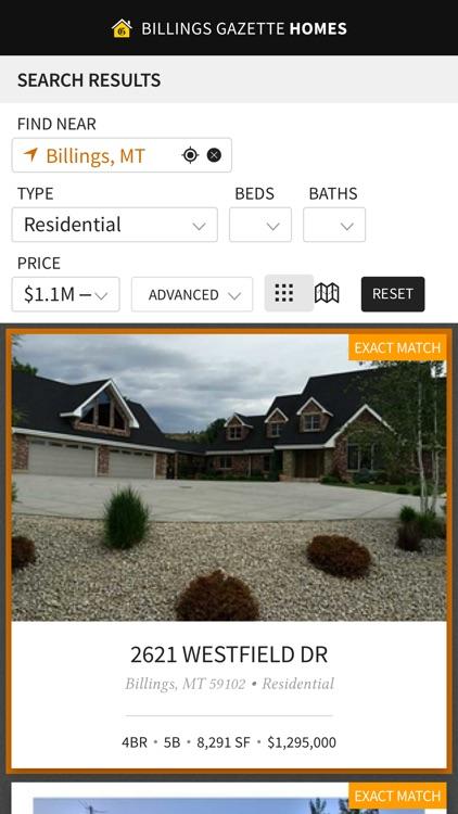 Billings Gazette Homes