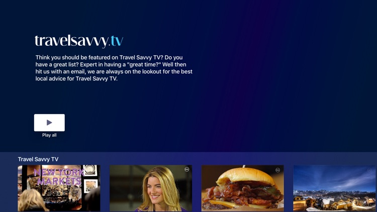 Travel Savvy TV